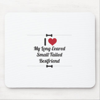 Funny Dog Quote Mouse Pad