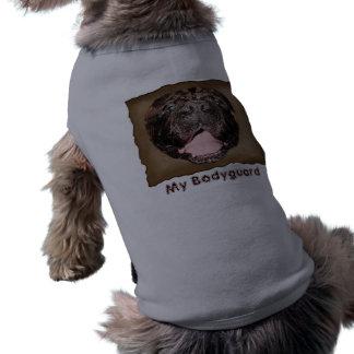"""Funny Dog Shirts """"My Bodyguard"""" Pet Clothing"""