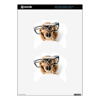 Funny Dog Xbox 360 Controller Skins