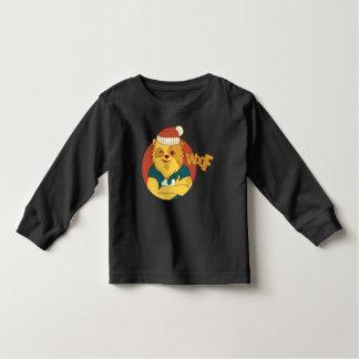 Funny dog toddler t-shirt