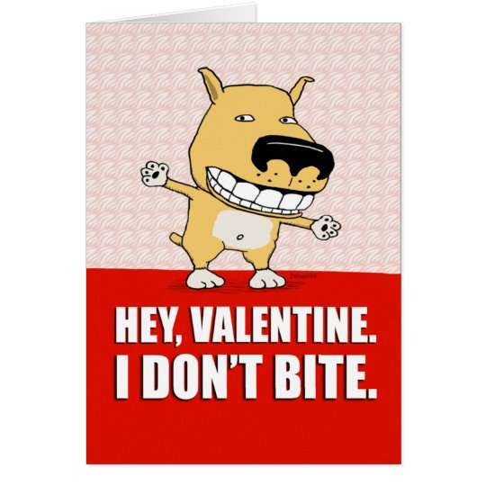 Funny Dog Valentine's Day card