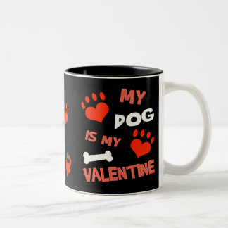 Funny Dog Valentine's Day Mug