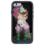 Funny dog with glasses tough xtreme iPhone 6 case