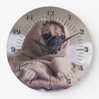 Funny doggy large clock