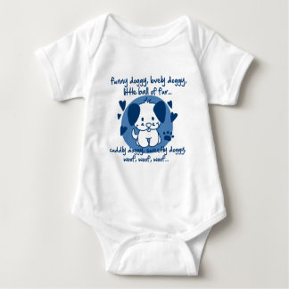 funny doggy, lovely doggy, little ball of fur tee shirt
