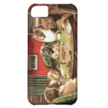 Funny Dogs Playing Poker Iphone Cover Case iPhone 5C Case