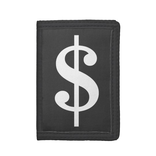 Funny dollar sign money wallets and coin purses