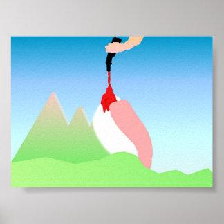 Funny Dolomites #1 Poster