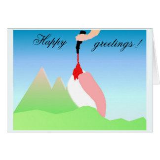 Funny Dolomites Card