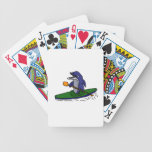 Funny Dolphin Kayaking Bicycle Playing Cards
