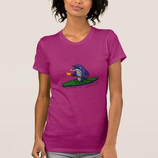 Funny Dolphin Kayaking T-Shirt