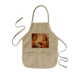Funny dolphin kids' apron