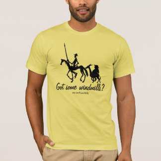 Funny Don Quixote graphic drawing art t-shirt