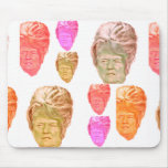 Funny Donald Trump Beehive Wig Mousepad
