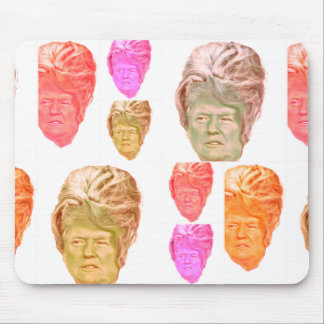 Funny Donald Trump Beehive Wig Mousepad