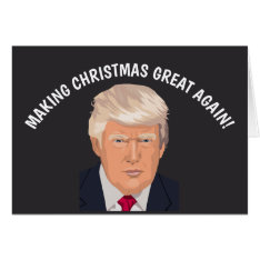 Funny Donald Trump Christmas Cards at Zazzle