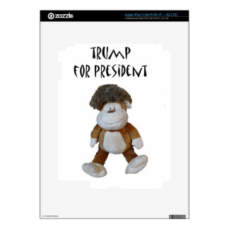 Funny Donald Trump for President Political Design iPad 3 Decals