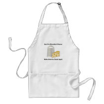 Funny Donald Trump Make America Grate Adult Apron