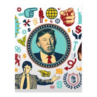 funny donald trump postcard
