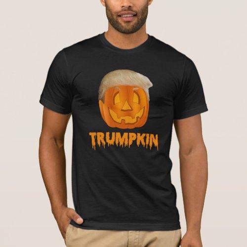 Funny Donald Trump Trumpkin Jack_O_Lantern T_shirt