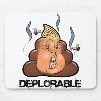 Funny Donald Trump - Trumpy-Poo Poo Emoji Icon Mouse Pad