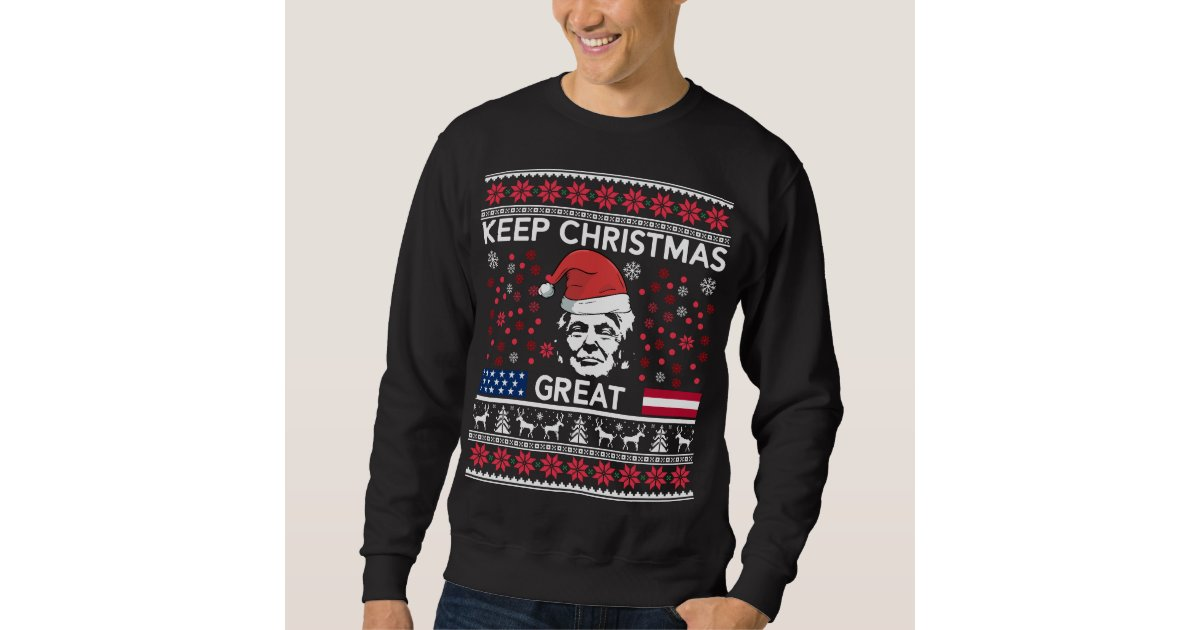 Donald Trump Ugly Christmas Sweater.Funny Donald Trump Ugly Christmas Sweater Zazzle Com