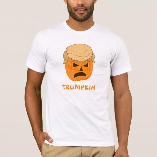 Funny Donald Trumpkin Pumpkin Jack_o_lantern T_Shirt