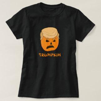 Funny Donald Trumpkin Pumpkin Jack-o-lantern T-Shirt
