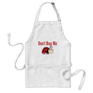 Funny Don't Bug Me Ladybug Adult Apron