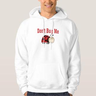 Funny Don't Bug Me Ladybug Hoodie