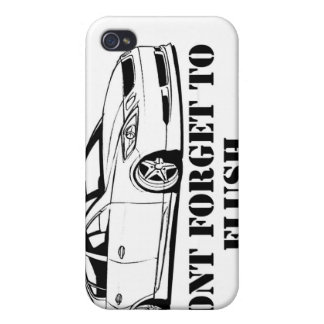 Funny don't forget to flush iPhone case iPhone 4 Case