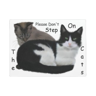 Funny Don't Step on the Cats