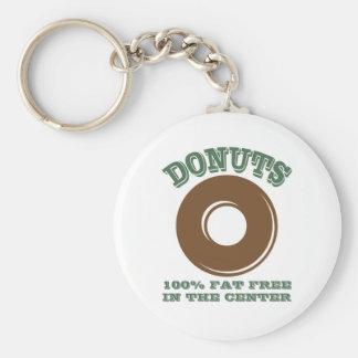 Funny Donut Keychain