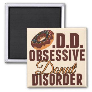 Funny Donut Magnet