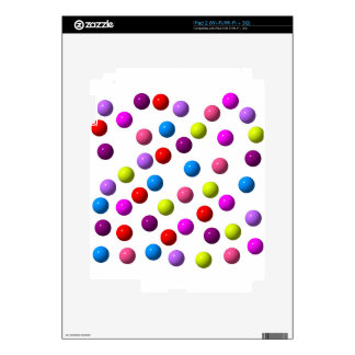 Funny Dots Decal For iPad 2