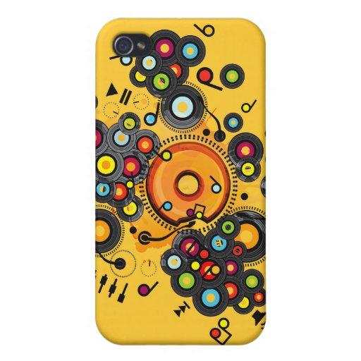 Funny_Doughnut iPhone 4 Protector
