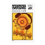 Funny_Doughnut Postage Stamp