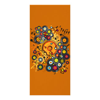 Funny_Doughnut Full Color Rack Card