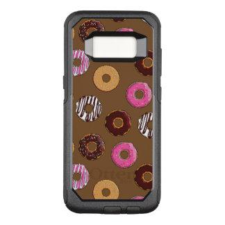 Funny Doughnuts Pattern OtterBox Commuter Samsung Galaxy S8 Case