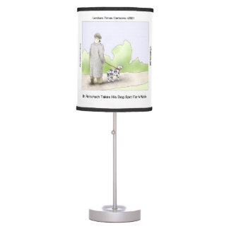 Funny Dr Rorschach & Dog Spot Table Lamp