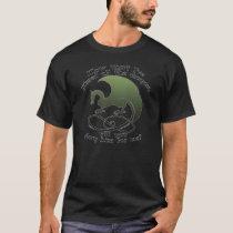 Funny Dragon Joke Men's T-Shirts