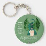 Funny Dragon Keychain