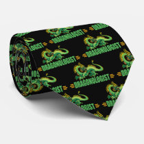 Funny Dragon Lover Neck Tie
