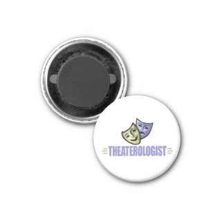 Funny Drama Theater 1 Inch Round Magnet