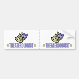 Funny Drama Theater Bumper Sticker