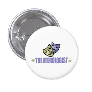 Funny Drama Theater Pinback Button