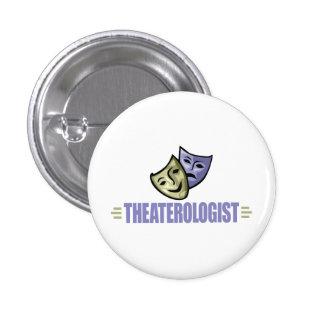 Funny Drama Theater Pinback Button