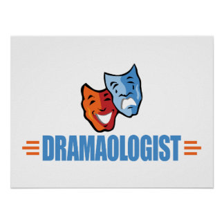 Funny Drama Theater Poster