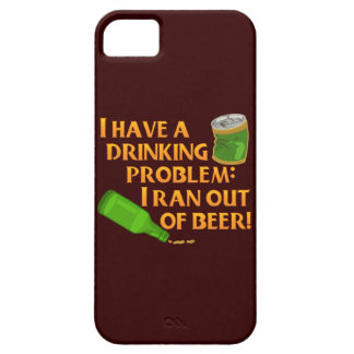 Funny Drinking Beer iPhone 5 Case