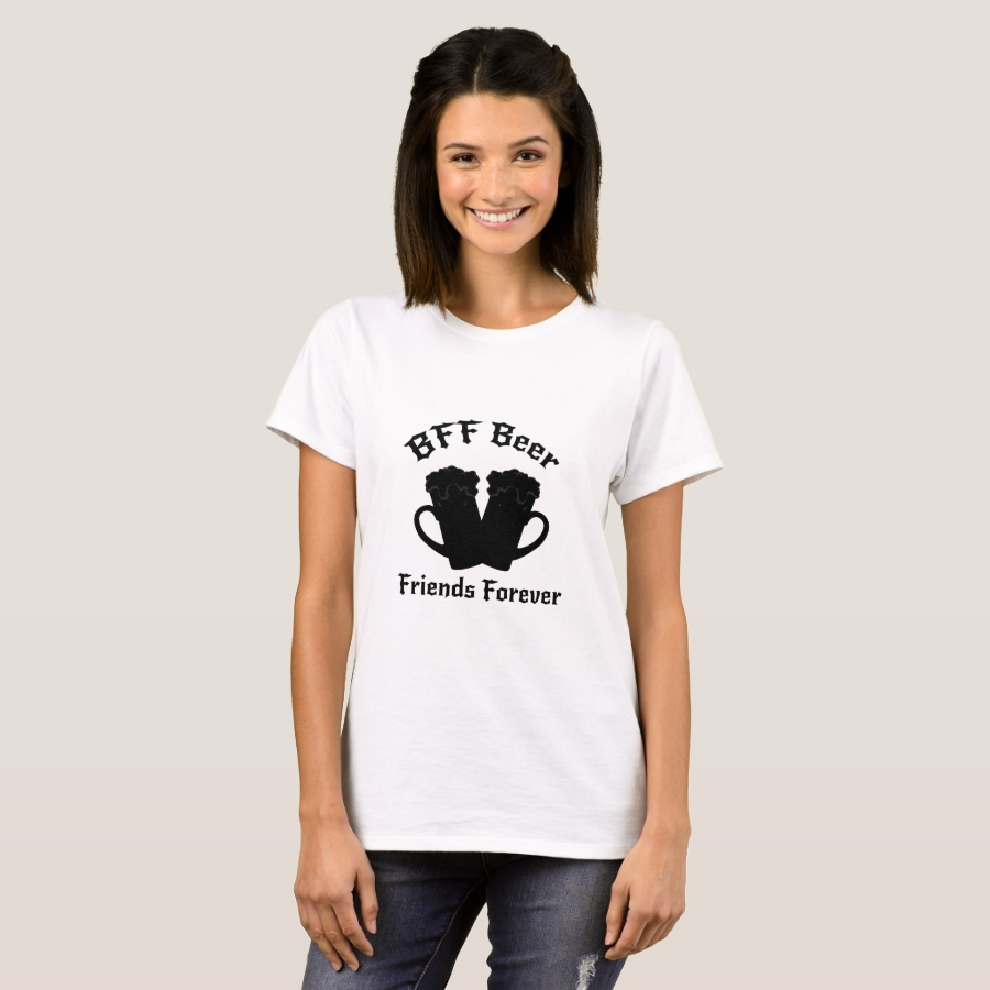 Funny Drinking Beer Friends Forever - Drinker T-Shirt - Best Selling Long-Sleeve Street Fashion Shirt Designs